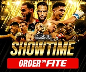 Undisputed Promotions Showtime