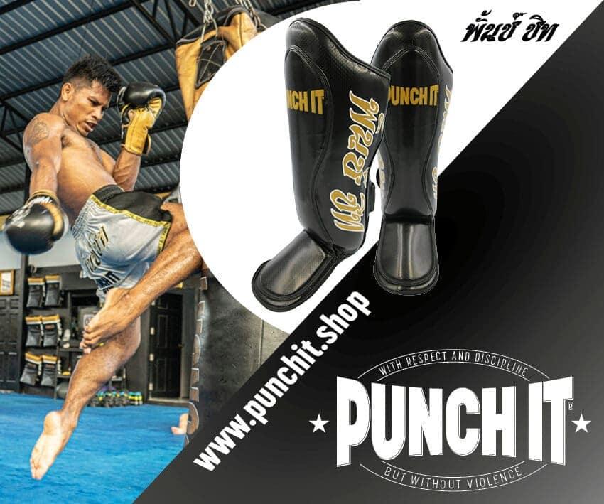 Punch it Shin Guards R1-Elite Kick
